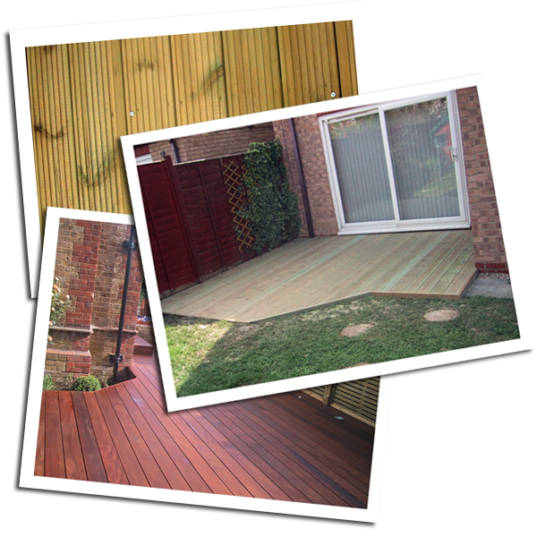 Softwood and Hardwood Decking in Essex and Hertfordshire