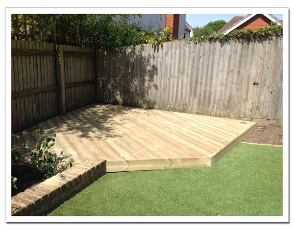 Garden Decking in Hertfordshire and Essex
