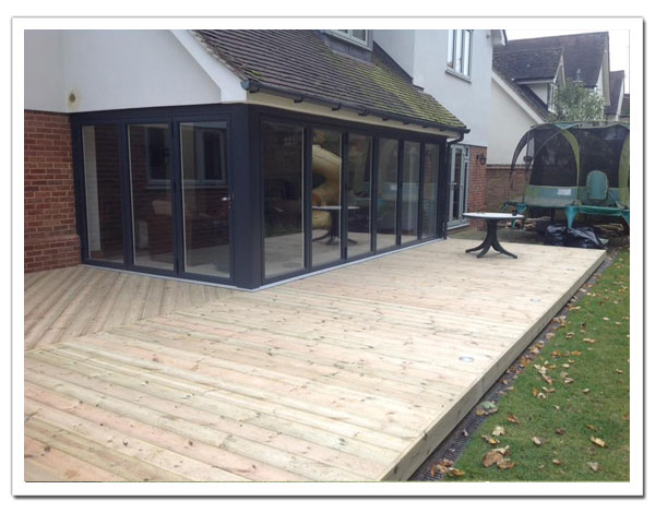 Garden Decking Essex and Hertfordshire